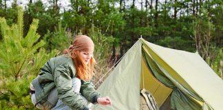 Biwakowanie pod namiotem w górach