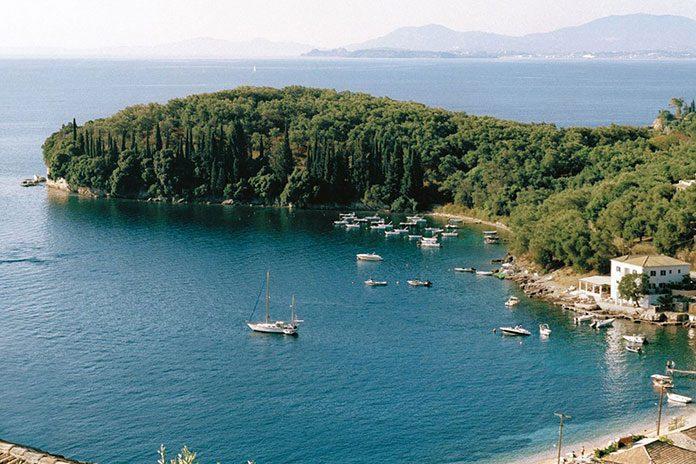 Korfu od strony klimatycznej